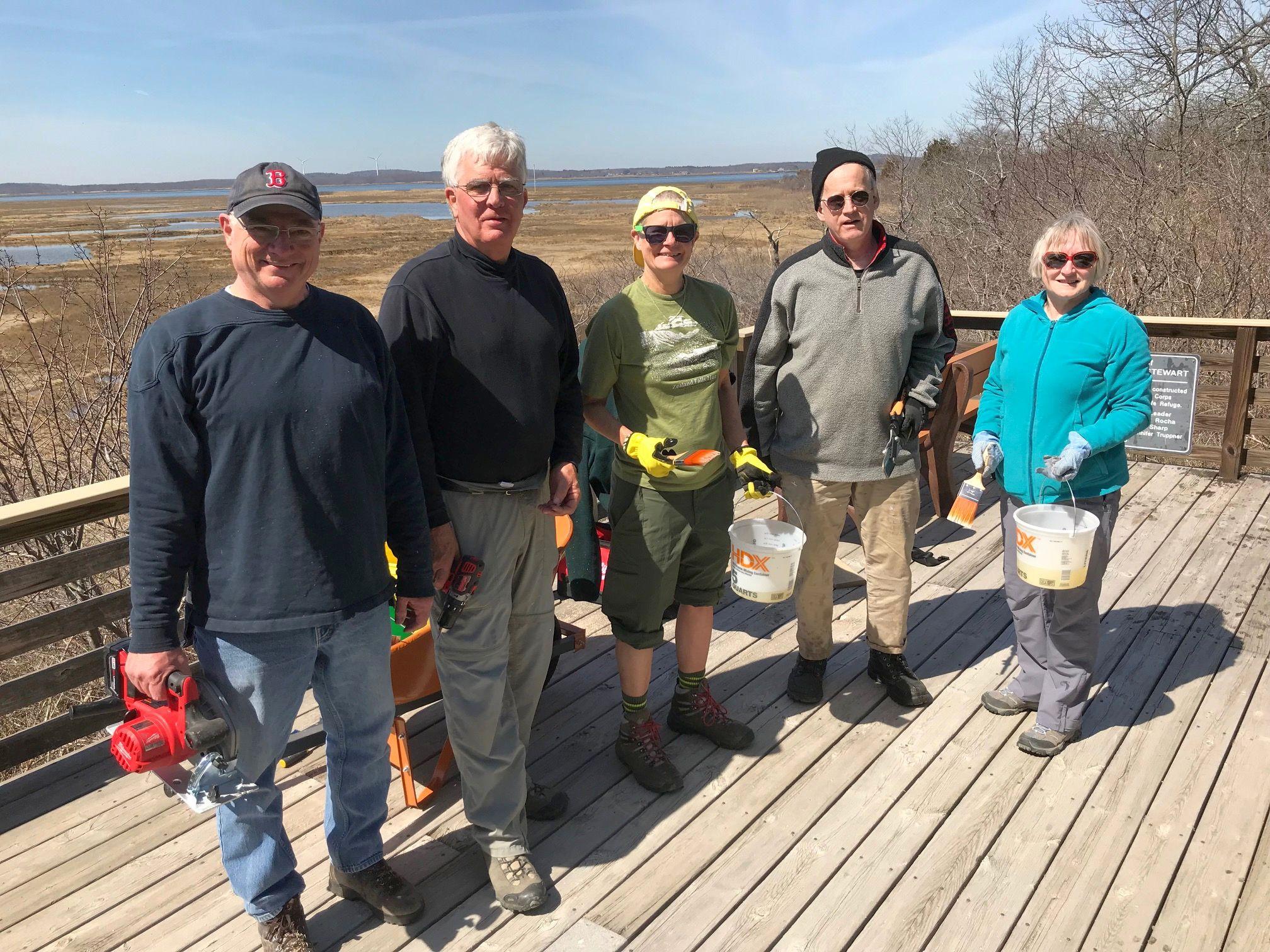 Pine Trail Maintenance Crew 24Apr2018